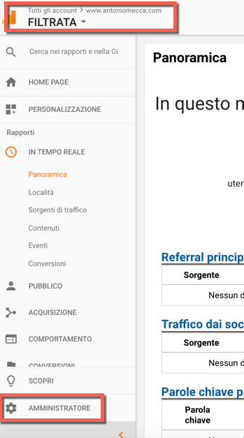 come aggiungere proprietari su google analytics