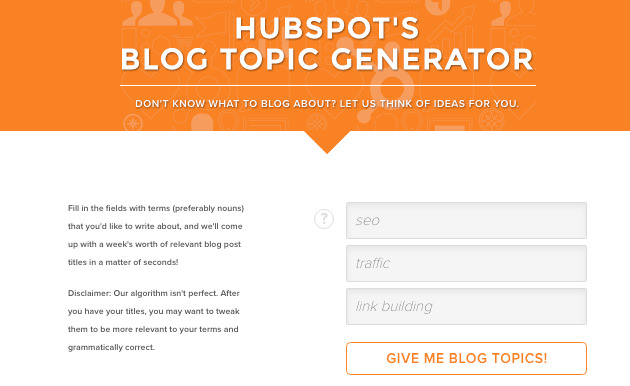 hubspot-topic-generator
