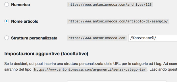 postname url brevi wordpress